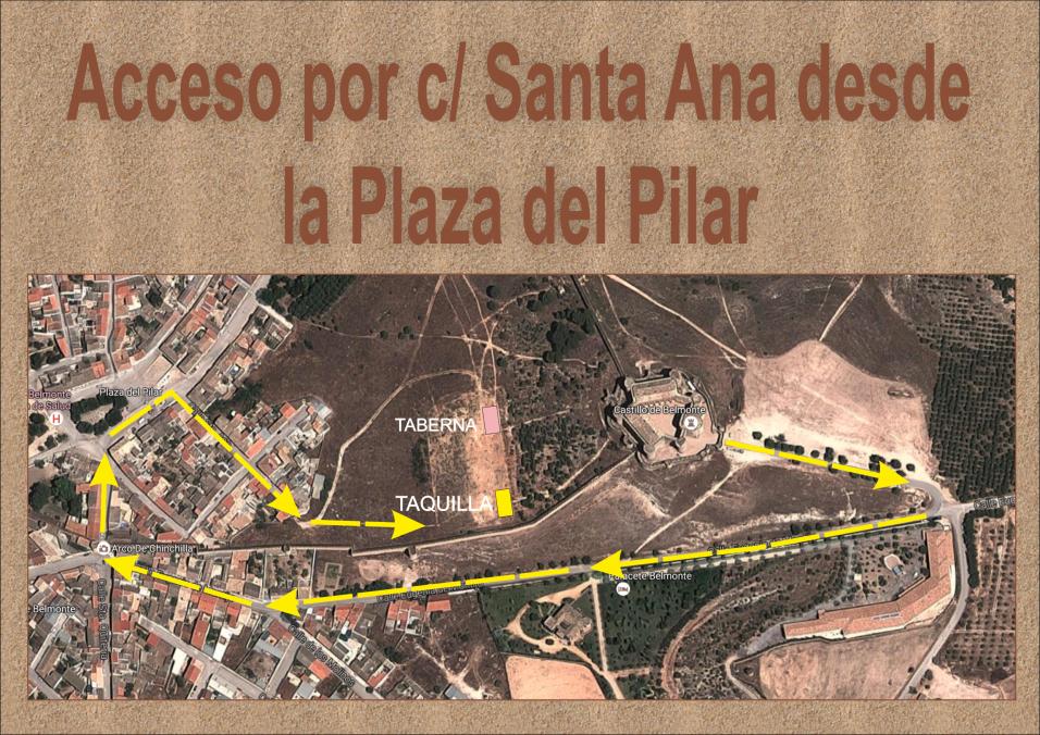 Enter by Calle Santa Ana